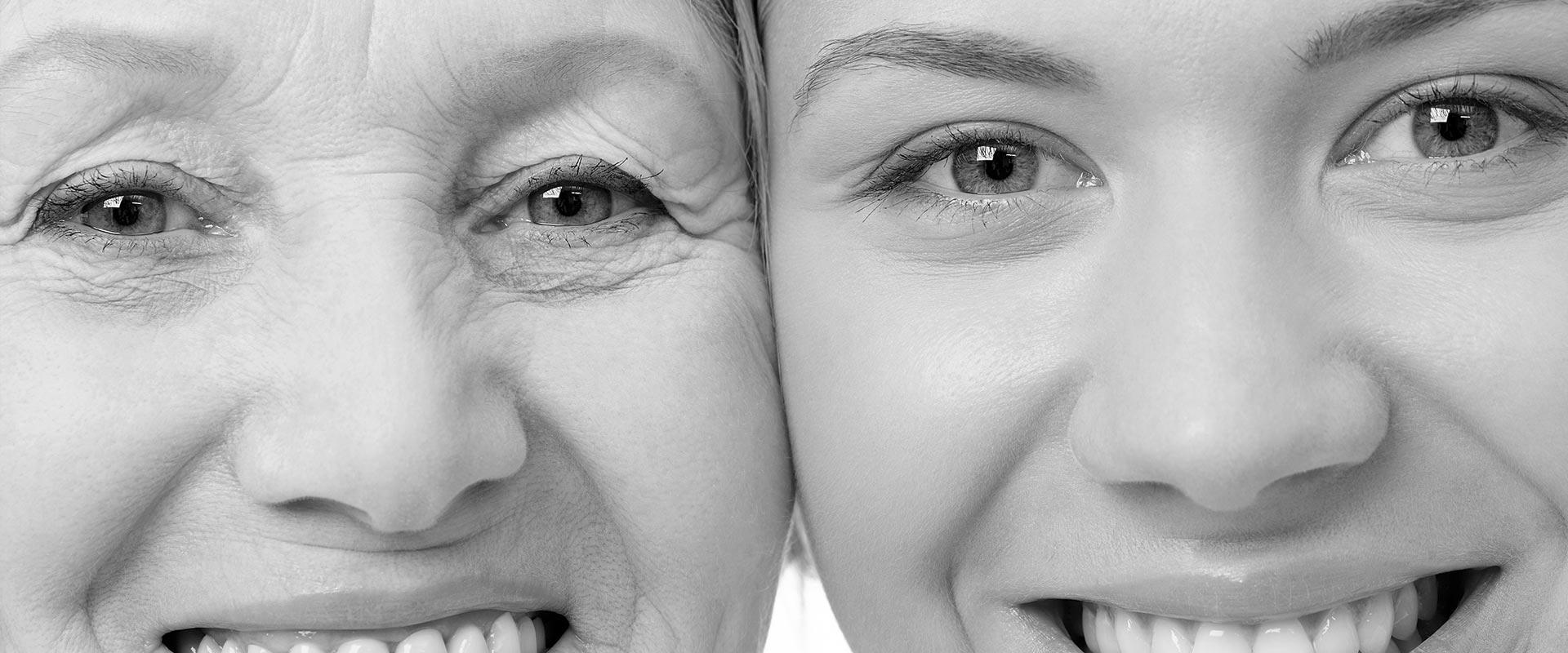 gesichtsverjuengung-alterungsprozess-generationen